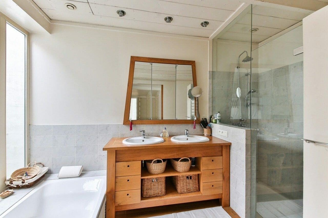 meuble Salle de bain, pose de meuble, refaire sdb,artisan